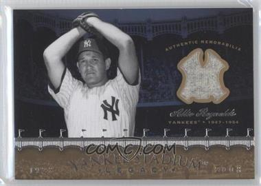 2008 Upper Deck - Multi-Product Insert Yankee Stadium Legacy Memorabilia #YSM-RE - Allie Reynolds