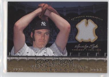2008 Upper Deck - Multi-Product Insert Yankee Stadium Legacy Memorabilia #YSM-SL - Sparky Lyle