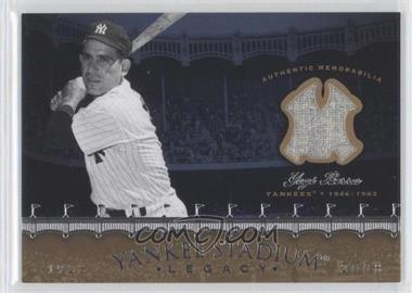 2008 Upper Deck - Multi-Product Insert Yankee Stadium Legacy Memorabilia #YSM-YB - Yogi Berra