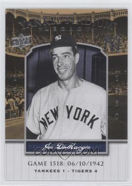 2008 Upper Deck - Multi-Product Insert Yankee Stadium Legacy #YSL1518 - Joe DiMaggio