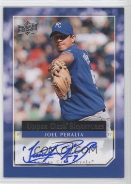 2008 Upper Deck - Signatures - [Autographed] #UDA-JP - Joel Peralta