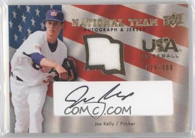 2008 Upper Deck - USA Baseball National Team - Black Ink Jersey Autographs [Autographed] [Memorabilia] #USA-JK - Joe Kelly /300