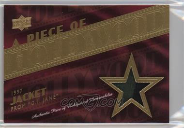 """2008 Upper Deck A Piece of History - A Piece of Hollywood Memorabilia - [Memorabilia] #HM-14 - 1997 Jacket from """"G.I. Jane"""" (Demi Moore)"""