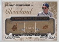 Grady Sizemore [Noted] #/99