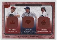 Roy Oswalt, Jake Peavy, Dan Haren #/99