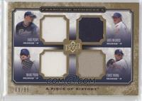 Jake Peavy, Greg Maddux, Mark Prior, Chris Young /99