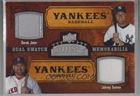 Dual Swatch Memorabilia - Derek Jeter, Johnny Damon