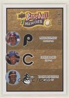Mike Schmidt, Ernie Banks, Frank Robinson #/299