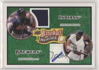Prince Fielder, Eddie Murray #/25