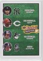 Derek Jeter, Ichiro Suzuki, Cal Ripken Jr., Ken Griffey Jr. /499