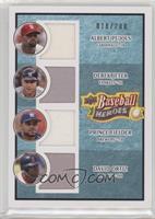 Albert Pujols, Derek Jeter, Prince Fielder, David Ortiz #/200