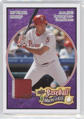 2008 Upper Deck Baseball Heroes - [Base] - Purple Patch #137 - Pat Burrell /5