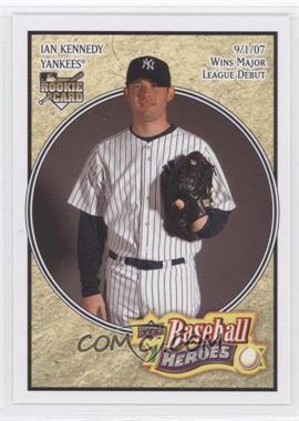 2008 Upper Deck Baseball Heroes - [Base] #120 - Ian Kennedy