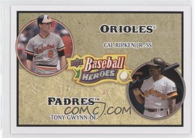2008 Upper Deck Baseball Heroes - [Base] #180 - Cal Ripken Jr., Tony Gwynn