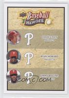 Chase Utley, Ryan Howard, Jimmy Rollins