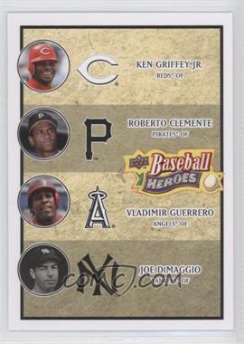 2008 Upper Deck Baseball Heroes - [Base] #199 - Vladimir Guerrero, Ken Griffey Jr., Roberto Clemente, Joe DiMaggio