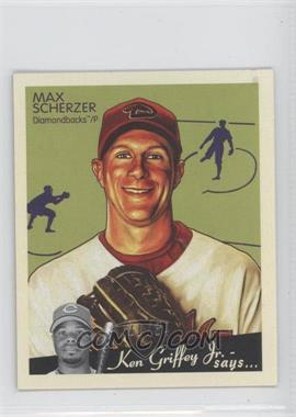 2008 Upper Deck Goudey - [Base] - Mini Black Back #6 - Max Scherzer /34