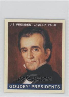 2008 Upper Deck Goudey - [Base] - Mini Blue Back #246 - James K. Polk