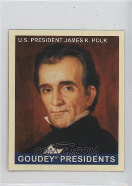 2008 Upper Deck Goudey - [Base] - Mini Red Back #246 - James K. Polk