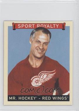 2008 Upper Deck Goudey - [Base] - Mini Red Back #293 - Mr. Hockey (Gordie Howe)