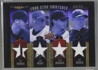 Roy Oswalt, Jake Peavy, Josh Beckett, Ben Sheets /15