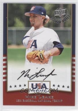 2008 Upper Deck Timeline - USA Baseball Signatures #USA-ML - Mike Leake