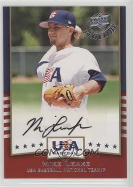 2008 Upper Deck Timeline - USA Baseball Signatures #USA-ML - Mike Leake