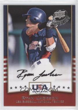 2008 Upper Deck Timeline - USA Baseball Signatures #USA-RJ - Ryan Jackson