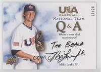 Mike Leake (Vacation) /20
