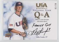Mike Leake (Television Show) /20