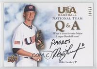 Mike Leake (Favorite Team) /20