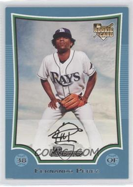 2009 Bowman - [Base] - Blue #212 - Fernando Perez /500