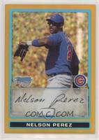 Nelson Perez #/50