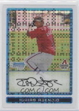 2009 Bowman - Chrome Prospects - X-Fractor #BCP165 - Isaias Asencio /250