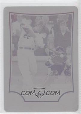 2009 Bowman Chrome - [Base] - Printing Plate Magenta #8 - Manny Ramirez /1