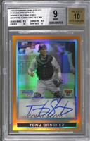 Tony Sanchez /25 [BGS 9 MINT]
