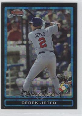 2009 Bowman Draft Picks & Prospects - World Baseball Classic Stars Chrome - X-Fractor #BDPW4 - Derek Jeter /199