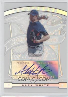 2009 Bowman Sterling - Prospects - Refractors #BSP-AW - Alex White /199