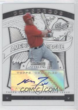 2009 Bowman Sterling - Prospects #BSP-MT - Mike Trout