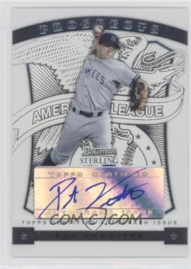2009 Bowman Sterling - Prospects #BSP-PV - Pat Venditte