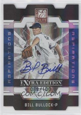 2009 Donruss Elite Extra Edition - [Base] - Aspirations Signatures [Autographed] #12 - Bill Bullock /100
