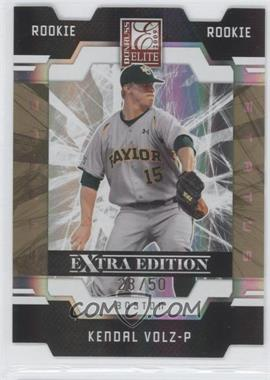 2009 Donruss Elite Extra Edition - [Base] - Status Gold #116 - Kendal Volz /50
