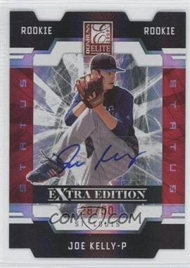 2009 Donruss Elite Extra Edition - [Base] - Status Signatures [Autographed] #99 - Joe Kelly /50