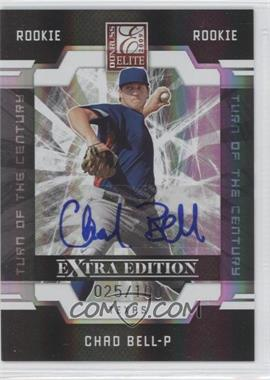 2009 Donruss Elite Extra Edition - [Base] - Turn of the Century Signatures [Autographed] #121 - Chad Bell /100