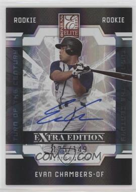 2009 Donruss Elite Extra Edition - [Base] #85 - Evan Chambers /695