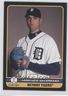 2009 O-Pee-Chee - [Base] - Black Border #488 - Armando Galarraga