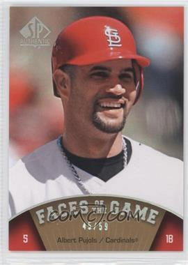 2009 SP Authentic - [Base] - Silver #171 - Albert Pujols /59
