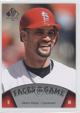 2009 SP Authentic - [Base] #171 - Albert Pujols