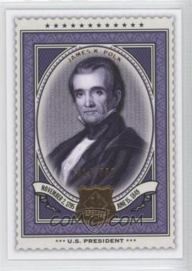 2009 SP Legendary Cuts - [Base] #149 - James K. Polk /550