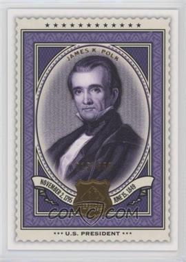 2009 SP Legendary Cuts - [Base] #149 - James K. Polk /550